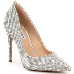 Steve Madden Daisie Crystal Jeweled Pumps